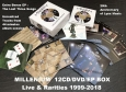 12CD/DVD/EP BOX Live & Rarities 1999-2018