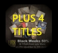 Black Weeks 50%  50 Titles