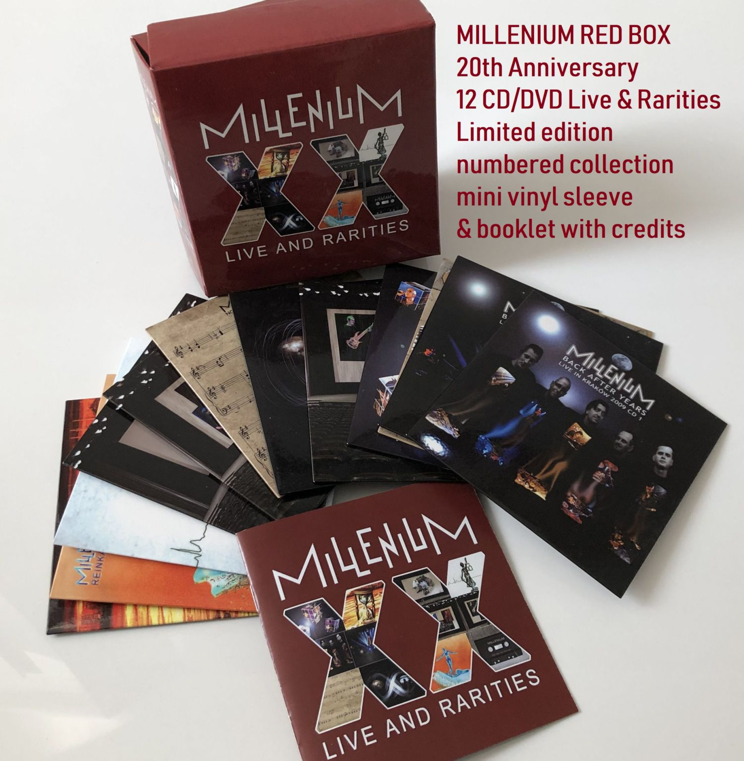 Red Box 12CD/DVD Live & rarities